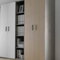 armadio easy slim , bruno icam steel, libreria design, armadio in metallo, armadio design