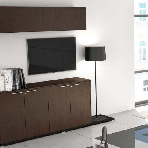 About office armadio basso 2 ante casa ufficio design for Mobili ufficio wenge