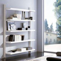 libreria metallo,scaffale metallo,caimi,scaffale biblioteca