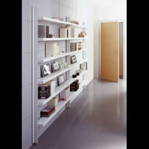 libreria a parete,libreria metallo,scaffale biblioteca, caimi