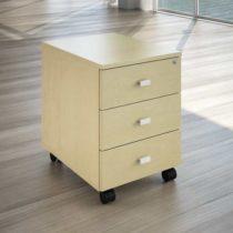 cassettiera, linekit, casa e ufficio design , cassettiera acero